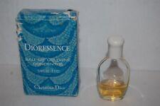 Vintage Christian Dior Dioressence Eau De Cologne Concentre in Box 0.25 Oz