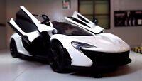 1:24 Echelle McLaren P1 Motormax Voiture Miniature 79325 Alaskan Diamant Blanche
