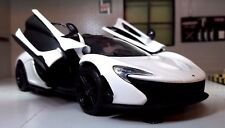 1:24 Scale McLaren P1 Motormax Diecast Model Car 79325 Alaskan Diamond White