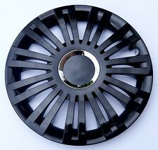 "SET OF 4 16"" WHEEL TRIMS,RIMS,CAPS TO FIT FIAT GRANDE PUNTO, QUBO + FREE GIFT #C"