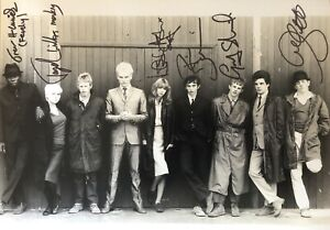 SIX CAST members hand signed large QUADROPHENIA movie photo