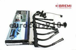 New! BMW 750iL BREMI Left Spark Plug Wire Set 353-W/LOOM 12121733218