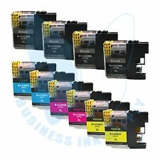 10 PK LC203XL LC201 compatible Ink Cartridges for Brother printers with NEW CHIP