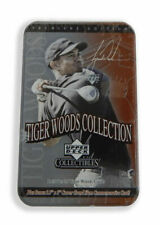 8x Tiger Woods 2001 Upper Deck 25 Rookie Cards Tins 2x Bobbleheads