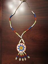 SIOUX /PLAINS  STUNNING LARGE BEADED NECKLACE