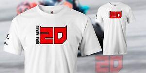Fabio Quartararo Petronas MotoGP 2020 'El Diablo' 20 tee plus sleeve design