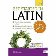 Get Started in Latin Teach Yourself 4e Sharpley Books PB / 9781444174786