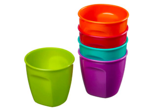 Vital Baby Nourish Perfectly Simple Cups - Ideal for Everyday Baby Use - 5 Pack