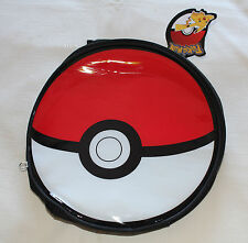 Pokemon Pokeball Round Kids Printed Insulated Lunch Box Cooler Bag New