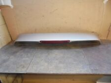 FORD FOCUS 2006 HATCH TAILGATE SPOILER SILVER