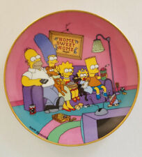 "Simpsons Collector Plate ""A Family for the 90's"" limited edition"