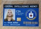 Chuck TV Series ID Badge-Sarah Walker cosplay costume prop