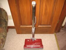 Vintage Kenmore Power Nozzle Canister Vacuum Cleaner Maroon Wands