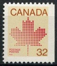 Canada 1981 SG # 1032ba, 32 quater Maple Leaf MNH p12x12.5 diritto Imperf #D 7061