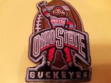 "OSU University of Ohio State Buckeyes Embroidered Iron On Patch 3.5""x 2"" RARE"