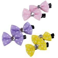 Polka Dot Dog or Cat Bow- Dog Hair Clip 10 Pack