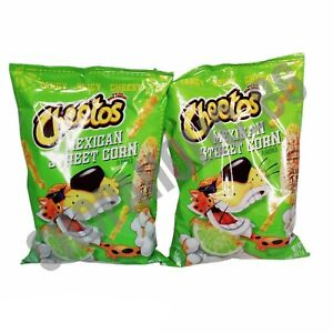 2 Cheetos Mexican Street Corn 3.25 oz Bag Tangy Spicy Cheesy Limited Edition NEW