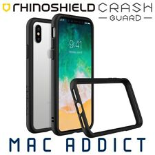 RhinoShield CrashGuard Rugged 3M Drop Proof Bumper Case For iPhone X BLACK