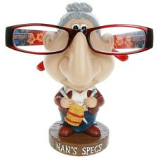 Comic Nan Specs Holder - Novelty Reading Spectacle Glasses Nose Stand