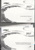 2017 Chevrolet Cruze Owners Manual Operator User Instruction Guide Book