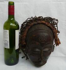 Chokwe Mwana Pwo Angola Congo Headdress Authentic African Tribal Art Mask