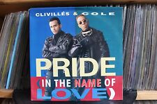 "7"" Single Clivilles & Cole - Pride (In The Name Of Love) U2-Cover"