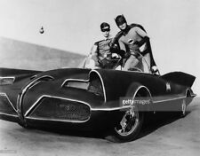 Rare Batman TV Batmobile Car 1966 8x10 B/W Photo #2