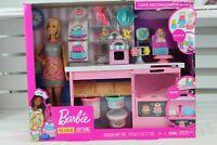 "Mattel-Barbie Cake Bakery and Doll Playset Dolls Kitchen Cake Doll 12"""