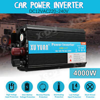 4000W Car Solar Power Inverter DC 24V To AC 220V Modified Sine Wave Converter XY