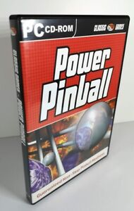 Power Pinball PC CD-ROM Game 7 Tables Non Stop Pinball Madness GSP - FREE Post