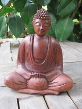 Buddha Holz Geschnitzt 2 Tempelwächter