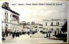 MATERA piazza Vittorio Veneto e Palazzo del Governo - non viagg piccola