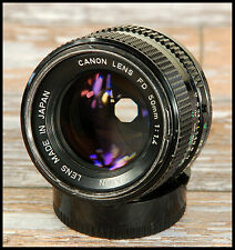 FAST Canon FD 50mm F1.4 Prime Standard lens - can be converted to digital