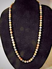 "Vintage Joan Rivers  Pearl Necklace 30"" Length"