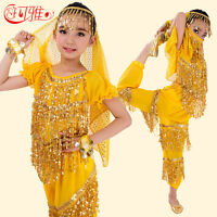 Belly Dance Costumes Kids Set Belly Dancing Children Cloth For Girl Child Wear
