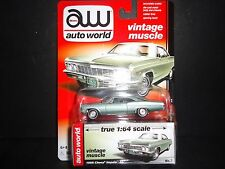Auto World Chevrolet Impala SS 1966 Willow Green 64042A