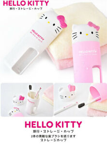 Hello Kitty lovely wash set 2soft toothbrush+1cup Travel gift bathroom