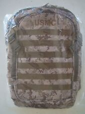 USMC US MARINE CORPS DESERT MARPAT CAMO CAMOUFLAGE WATERPROOF MOLLE BACK PACK +