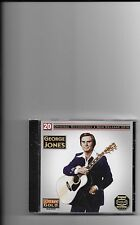 "GEORGE JONES, CD ""20 ORIGINAL RECORDINGS"" NEW SEALED"