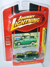 Modern Muscle - 2000 FORD MUSTANG-Green/Yellow STRIPES - 1:64 Johnny Lightning