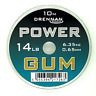 Brand New Drennan Power Gum - Clear, Red or Green/Brown - 14lb / 6.35kg - 0.65mm