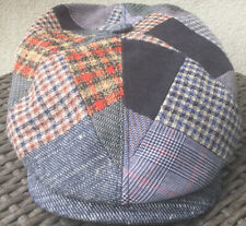Stetson Europe Patchwork Large 59CM 7 3/8 48% Linen 22% Virgin Wool Imported