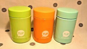NEW Tupperware Thermos Thermal Flask 250ml Aqua, Green or Orange