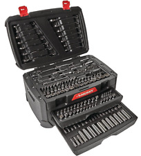 Mechanics Tool Set Husky 270 Piece Metric SAE Wrenches Sockets Ratchet Shop Case