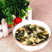 Different Tastes Instant Vegetable Egg Soup Fast Food  Delicious Healthy Food