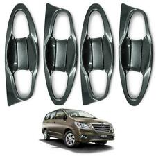 Doors Handle Bowl Inner Cover Carbon Trim Fits Toyota Innova Crysta 2016 2017 on
