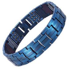 100% Titanium Magnétique énergie Germanium Puissance Bracelet Santé 4in1