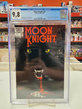 MOON KNIGHT #29 (Marvel Comics, 1983) CGC Graded 9.8 ~WHITE Pages
