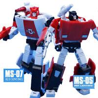 3 Style Transformers MFT Pocket Series MS-05/07 G2 Sideswipe Figure Toy In Stock