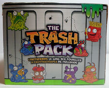 THE TRASH PACK - SERIES 1 - 2 x FIGURES IN SEALED YELLOW TRASH CAN